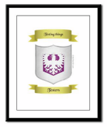 Print your crest on: Framed Panel Print