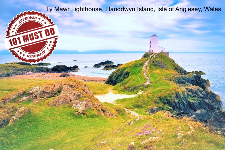 Isle of Anglesey Lighthouse Wales