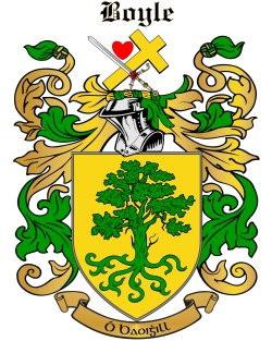 BOOLE family crest