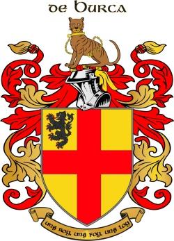 BURK family crest