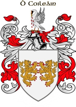 Collyns family crest
