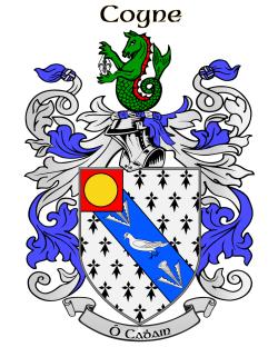 Coyne family crest