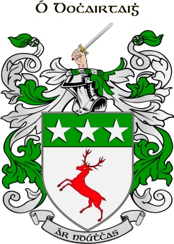 DOUGHTY family crest