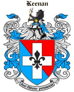 Keenan family crest
