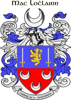 LOUGHLIN family crest