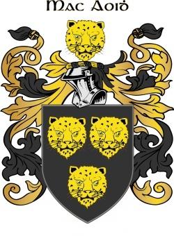 MCGHEE family crest