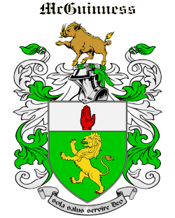 MCGUINNESS family crest