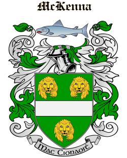 MCKENNA family crest