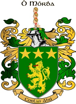 MORES family crest
