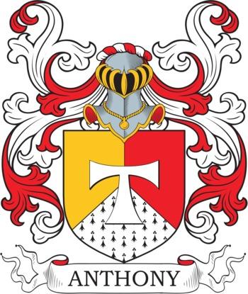 Anthony family crest