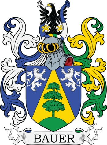 BAUER family crest