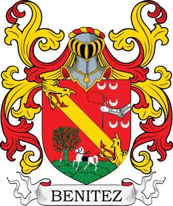 BENITEZ family crest