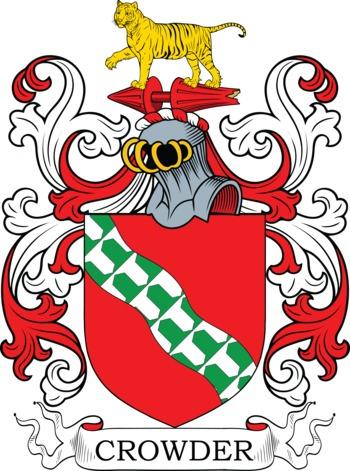 CROWDER family crest