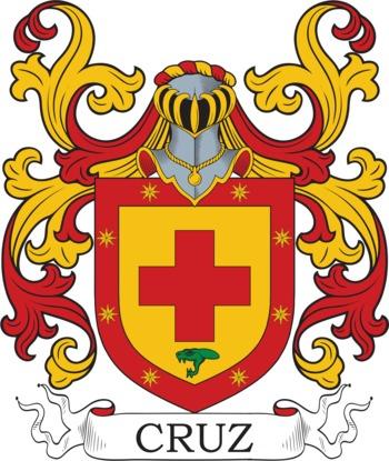 CRUZ family crest