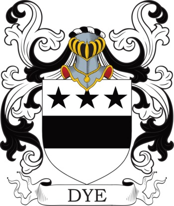 DYE family crest
