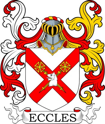ECCLES family crest