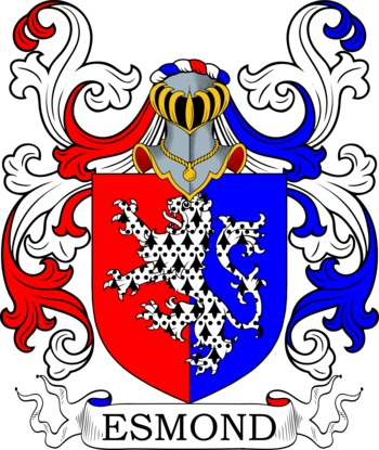 ESMOND family crest