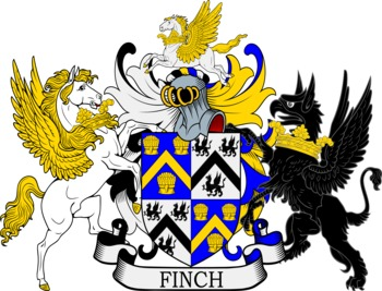 FINCH family crest