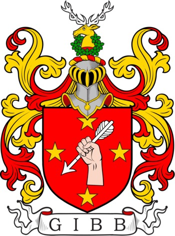 GIBB family crest