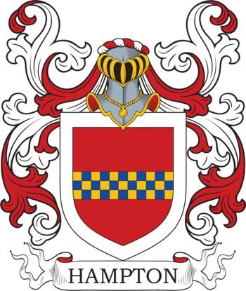 HAMPTON family crest