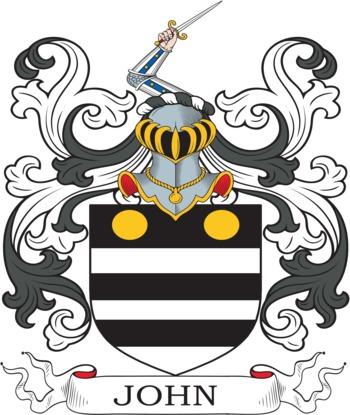JOHN family crest