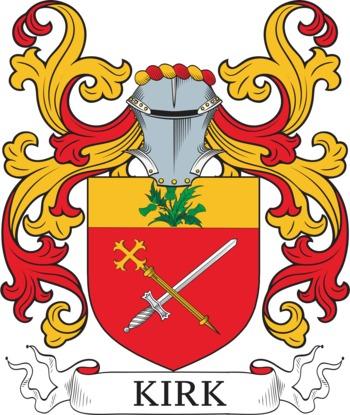 KIRK family crest