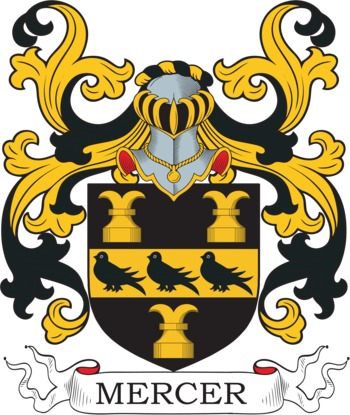MERCER family crest