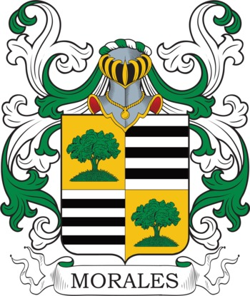 MORALES family crest