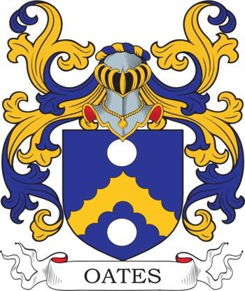 OATES family crest