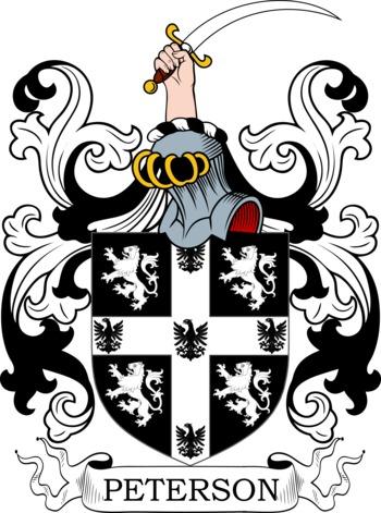 PETERSON family crest