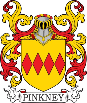 PINKNEY family crest