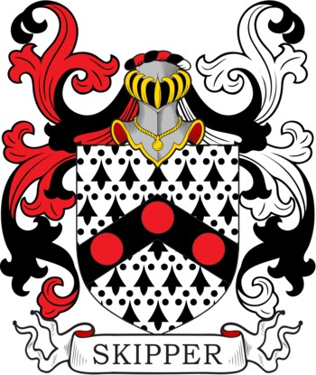 Skipper family crest