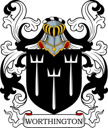 WORTHINGTON family crest