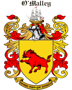 O'MALLEY family crest