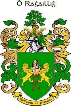 OREILLY family crest