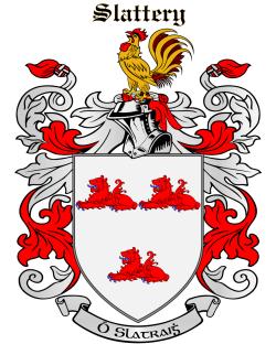 SLATTERY family crest