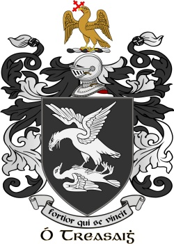TRACY family crest